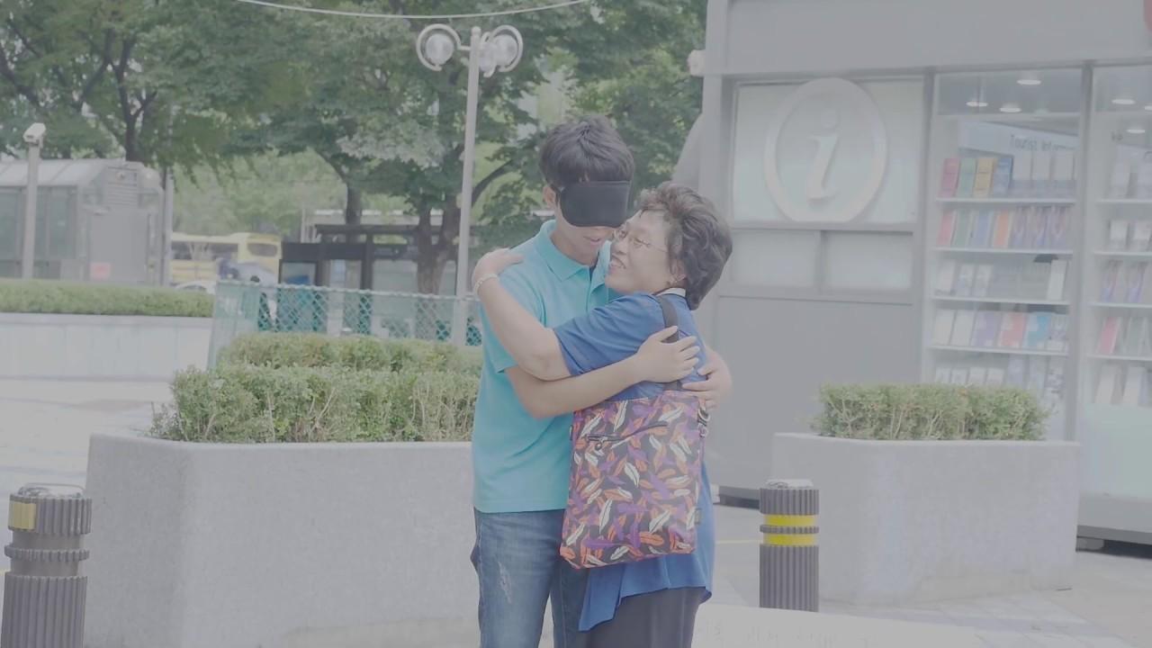 [감동주의](1탄)한일평화를 위해 눈을 가리고 프리허그를 해보았다. 日韓の平和のために光化門で大学生がフリーハグ