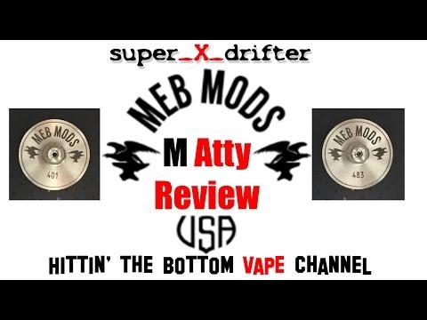M ATTY RDA Review / MEB Mods M-Atty / MEBMODS / Matty / M Atty Accessories / BF M ATTY