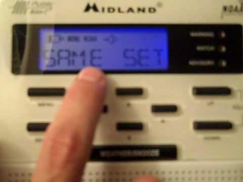programming a NOAA Weather Radio - Omaha NE area.MP4