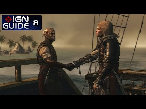 Assassin's Creed 4 Walkthrough - Sequence 02 Memory 06: The Treasure Fleet