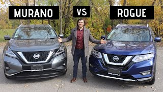 Nissan Rogue vs Nissan Murano | Which one should you buy? |
