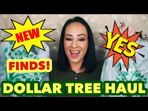 NEW FINDS!! AWESOME DOLLAR TREE HAUL!