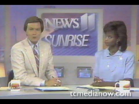 KARE-TV Sunrise July 24, 1987 Super Storm Coverage