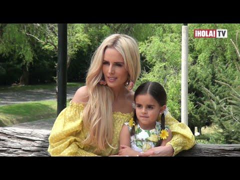 Tania Ruiz Le Cumple El Sueño A Su Hija De Posar Juntas Para Una Revista   ¡HOLA! TV