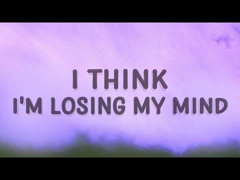 Bazzi - I Think I'm Losing My Mind (Myself) (Lyrics)