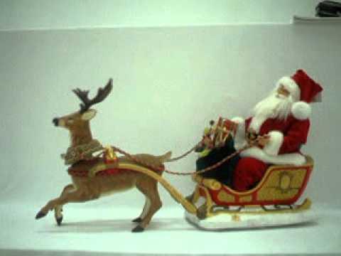 聖誕老公坐麋鹿雪車 - YouTube