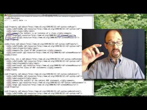 Metadata MOOC 3-9: RDF Namespace