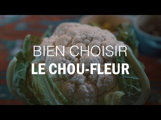 BIEN CHOISIR un CHOU-FLEUR by Michel Roth