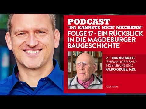 """Podcast """"Da kannste nich´ meckern..."""" - Folge 17 - Ein Rückblick in die Magdeburger Baugeschichte"""