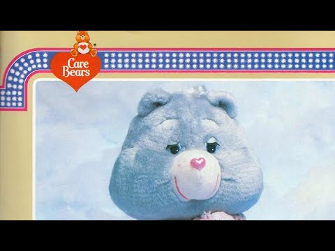 Care Bears Plush Toys 80's Commercial