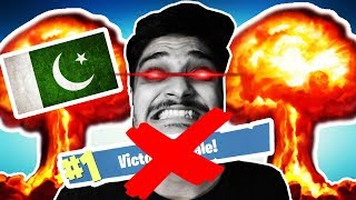 Pakistan's Best Fortnite Player Rage Quits.... AGAIN!