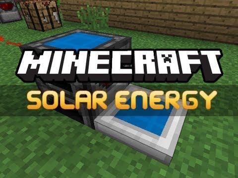 Minecraft: Solar Energy Mod