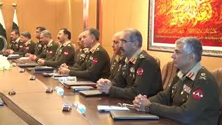 208th Corps Commanders' Conference
