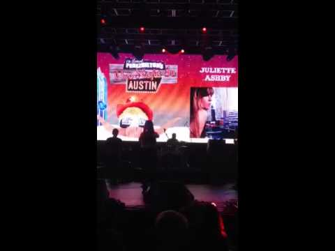 Juliette Ashby for Perez Hilton's One Night in Austin