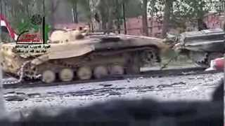 Syria BMP Destroyed