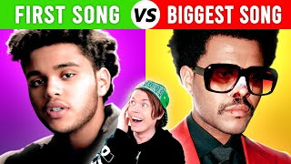 Singers FIRST Songs vs Most POPULAR Songs #2