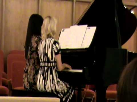 Micaela And Heather -piano Duet