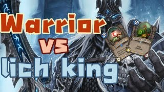 Lich king deck hearthstone - Warrior VS lich king