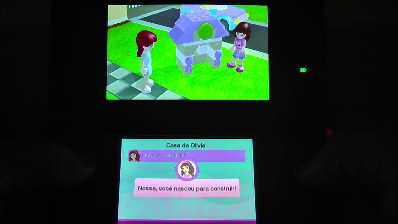 Lego Friends Nintendo 3ds 2ds Vgdb Youtube