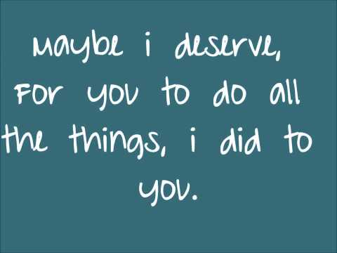 Maybe I Deserve- Tank Lyrics