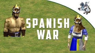 AoE2: The Spanish Inquisition [Gameplay Commentary]