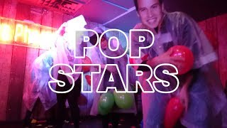 Pop Stars - Balloon Popping Game - Last Man Standing Game Show