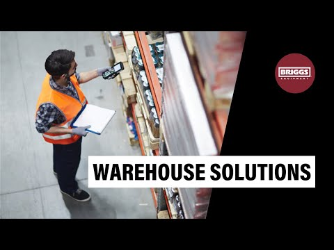 Briggs Warehouse Storage Solutions - Racking Timelapse