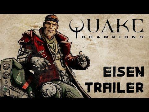 Quake Champions - New Champion: Eisen!