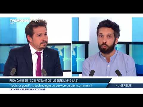 Tech for good : Rudy Cambier invité de TV5MONDE