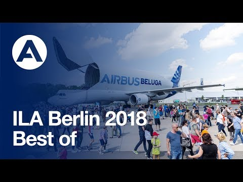 Airbus at the 2018 ILA Berlin Air Show