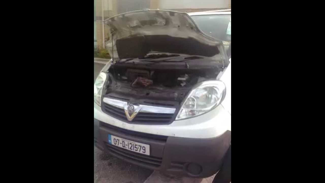 change clutch on a opel vivaro 2 0l diesel youtube. Black Bedroom Furniture Sets. Home Design Ideas