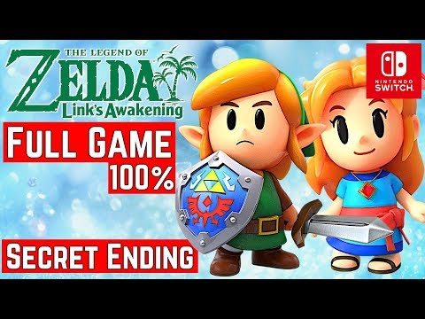 Zelda Link's Awakening [Switch] - Gameplay Walkthrough [Full Game 100%] - No Commentary
