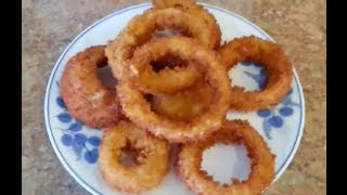 How to make Onion Rings - 99 CENTS ONLY store meal deal RECIPE