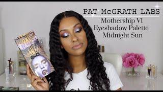 PAT McGRATH Mothership VI MIDNIGHT SUN Eyeshadow Palette | SWATCHES First Impression TUTORIAL