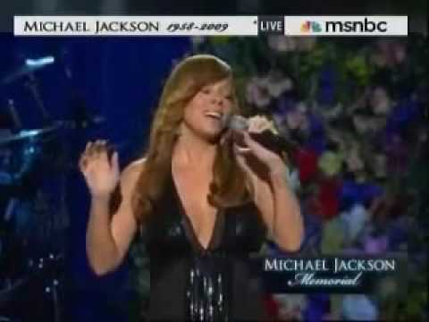Never Forget You by Mariah Carey Michael Jackson Tribute