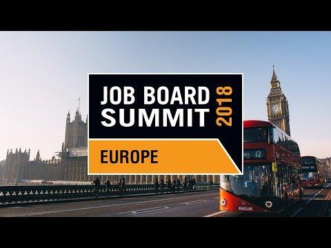 The Job Board Summit Europe 2018 returns to London