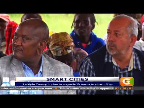 Laikipia County in plan to upgrade 10 towns to smart cities
