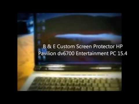 HP 15.4 Anti Scratch Matte Anti-glare Glossy B & E Touch Screen Protector