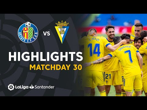 Getafe Cadiz Goals And Highlights