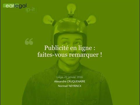 earlegal #3 - Publicité en ligne : faites-vous remarquer !