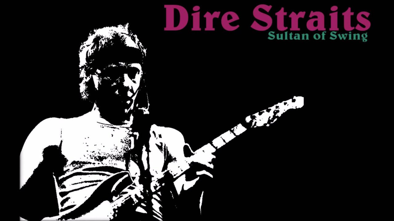 Best Painting Dire Straits Sultans Of Swing Best Remix Ever
