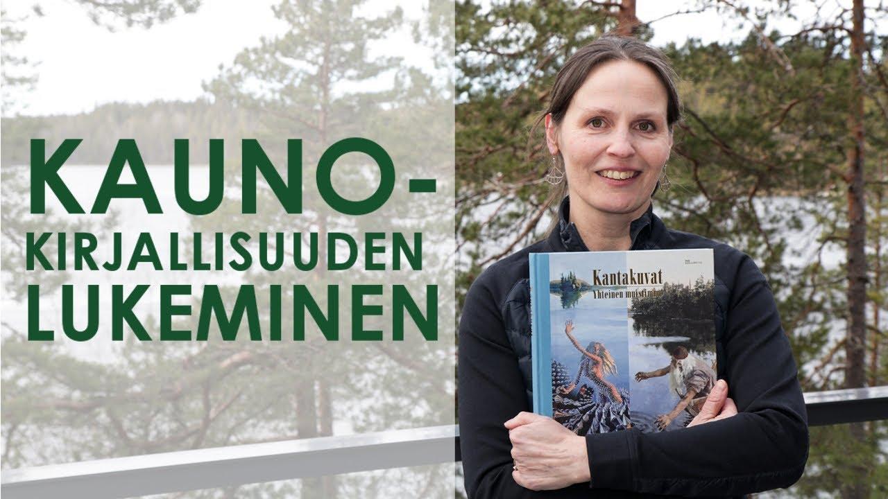Kaunokirjallisuuden lukeminen - Äidinkieli, Kirjoittaminen ja Kirjallisuus (ÄKK)