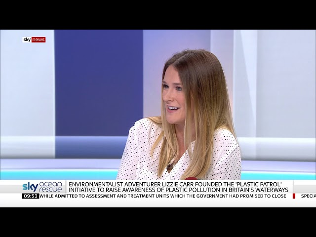 96e26446cd6c Activist Lizzie Carr talks to Sky News about Plastic Pollution. 603 views.  3 months ago