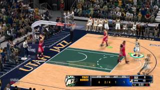 NBA2k14 no pc - aprendendo a jogar!