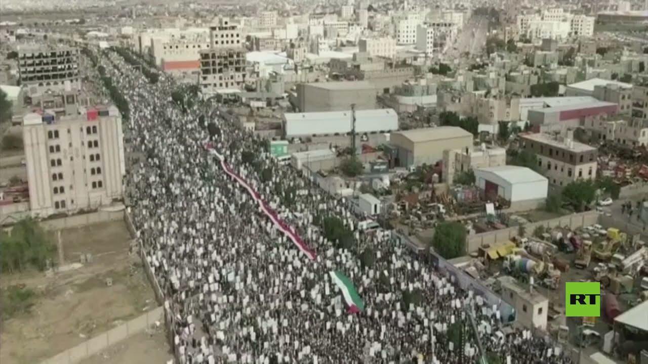 الآلاف يشاركون في صنعاء في مسيرة بمناسبة يوم القدس العالمي  - نشر قبل 5 ساعة