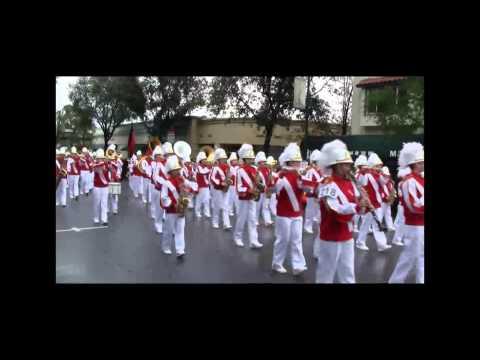 Dartmouth Middle School at Los Gatos Holiday Parade 2012