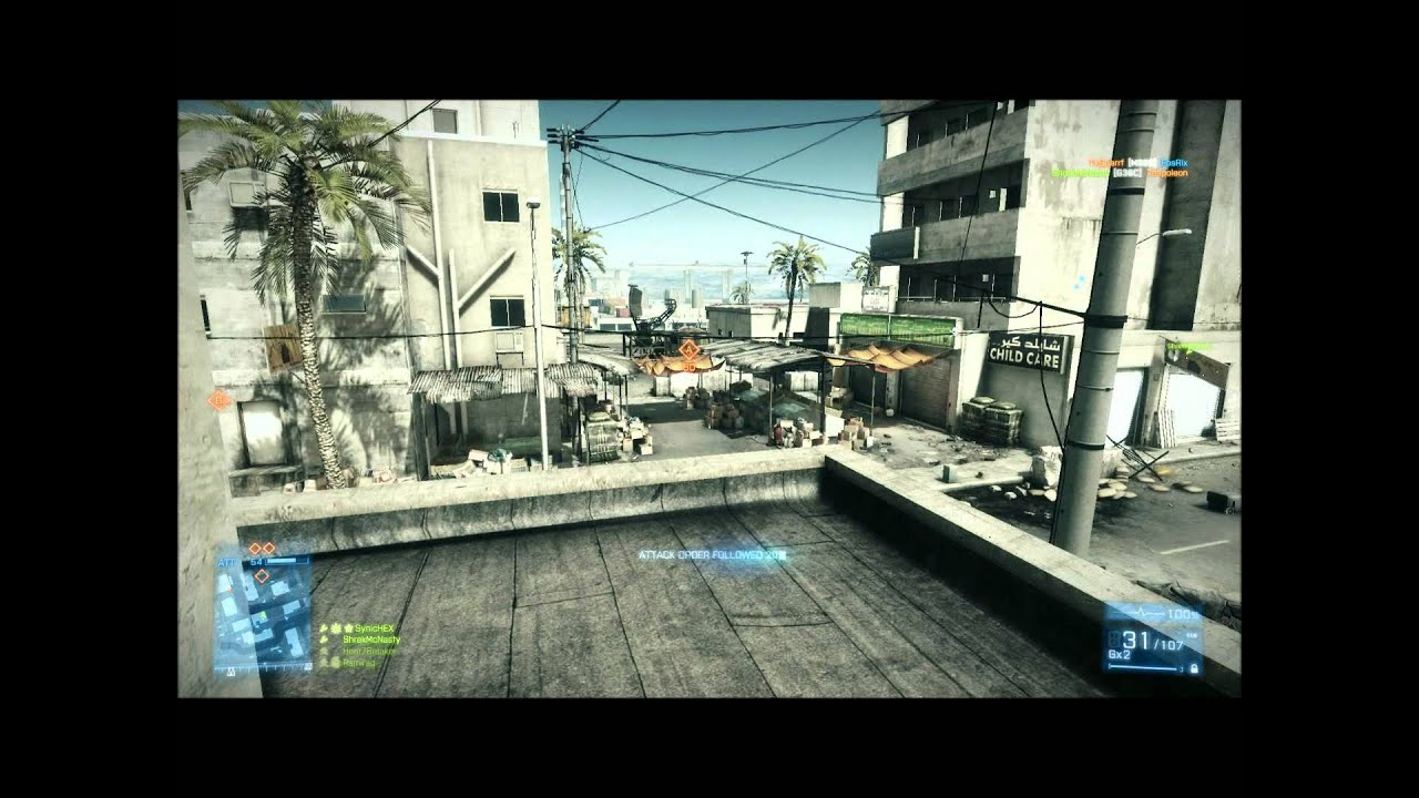 Battlefield 3 Back To Karkand Day 1 Gameplay PC 1080p
