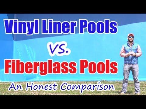Vinyl Liner Pools vs Fiberglass Pools; An Honest Comparison