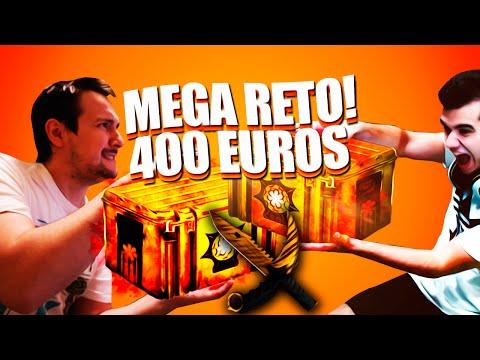 EL MEGA RETO DE 400 EUROS!! | EL RETO DE LAS 10 CAJAS | bysTaXx vs byAbeeL | CSGO