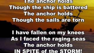 THE ANCHOR HOLDS orchestra lyrics JEK